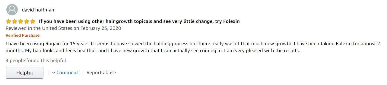 Folexin Customer Review