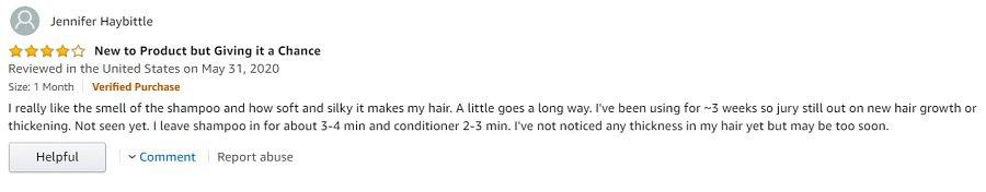 Shapiro MD Shampoo Customers Review