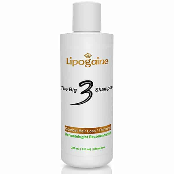Lipogaine Big 3 Shampoo Review