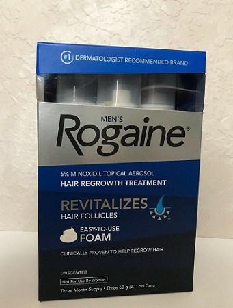 Mens Rogaine Hair Growth Treatment