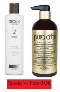 Nioxin Vs Pura D'or