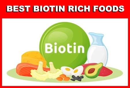 Best Biotin-rich Food