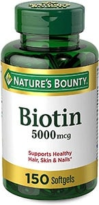 Natural Biotin Supplement